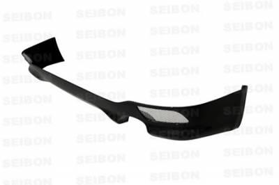Seibon - Subaru WRX Seibon OEM Style Carbon Fiber Rear Lip - RL0809SBIMP-OE