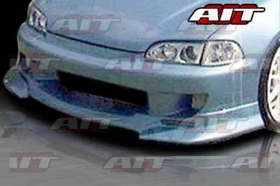 AIT Racing - Honda Civic AIT SFI Style Front Bumper - HC92HISFIFB2