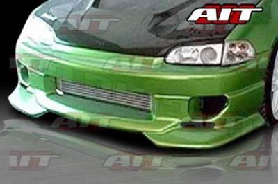 AIT Racing - Honda Civic AIT SFII Style Front Bumper - HC92HISFIIFB2