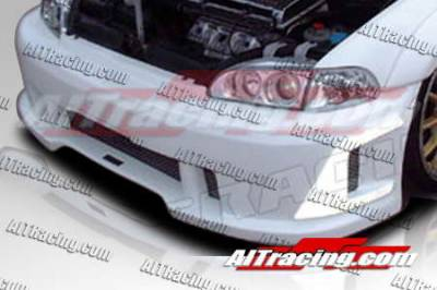 AIT Racing - Honda Civic 2DR AIT Racing SIN Style Front Bumper - HC92HISINFB