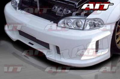 AIT Racing - Honda Civic 2DR & 4DR AIT SIN Style Front Bumper - HC92HISINFB2