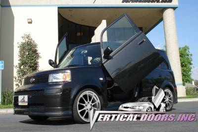 Vertical Doors Inc - Scion xB VDI Vertical Lambo Door Hinge Kit - Direct Bolt On - VDCSCXB0406