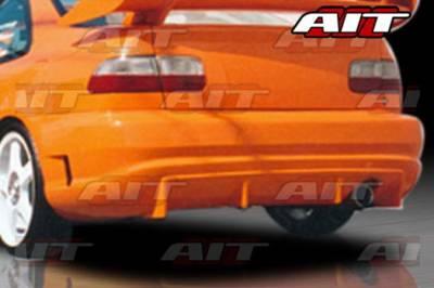 AIT Racing - Honda Civic 2DR AIT Racing TSC Style Rear Bumper - HC92HITCSRB2