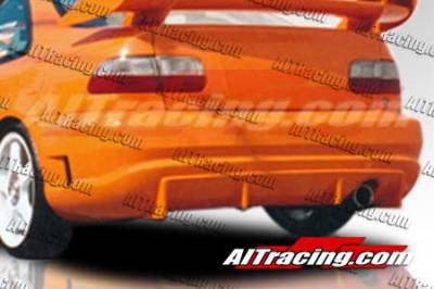 AIT Racing - Honda Civic 2DR AIT Racing TSC Style Rear Bumper - HC92HITSCRB2