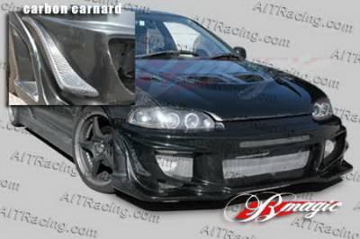 AIT Racing - Honda Civic AIT Racing Vascious Style Front Bumper - HC92HIVASFB2