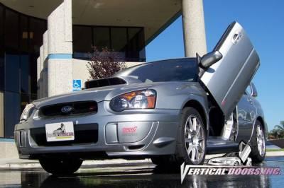 Vertical Doors Inc - Subaru WRX VDI Vertical Lambo Door Hinge Kit - Direct Bolt On - VDCSUBIMP0107