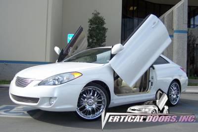 Vertical Doors Inc - Toyota Solara VDI Vertical Lambo Door Hinge Kit - Direct Bolt On - VDCTOYSOL0408