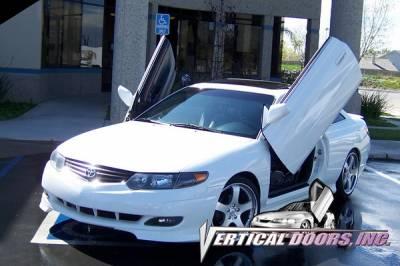 Vertical Doors Inc - Toyota Solara VDI Vertical Lambo Door Hinge Kit - Direct Bolt On - VDCTOYSOL9903