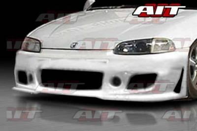 AIT Racing - Honda Civic 2DR AIT Zen Style Front Bumper - HC92HIZENFB2