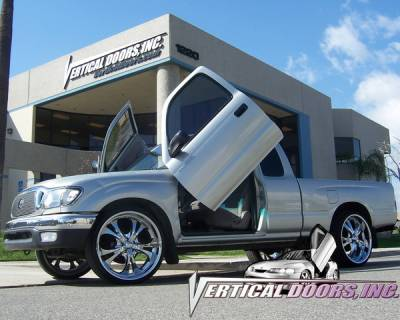 Vertical Doors Inc - Toyota Tacoma VDI Vertical Lambo Door Hinge Kit - Direct Bolt On - VDCTOYTAC9504