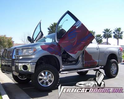 Vertical Doors Inc - Toyota Tundra VDI Vertical Lambo Door Hinge Kit - Direct Bolt On - VDCTOYTUN07