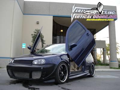 Vertical Doors Inc - Volkswagen Golf VDI Vertical Lambo Door Hinge Kit - Direct Bolt On - VDCVOLKGOLF9806