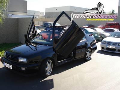 Vertical Doors Inc - Volkswagen Jetta VDI Vertical Lambo Door Hinge Kit - Direct Bolt On - VDCVOLKJETTA9198