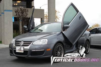 Vertical Doors Inc - Volkswagen Jetta VDI Vertical Lambo Door Hinge Kit - Direct Bolt On - VDCVOLKJETTA9905