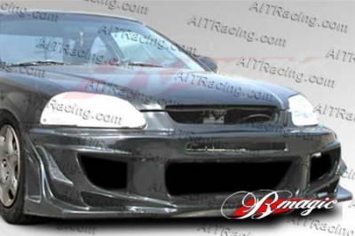 AIT Racing - Honda Civic AIT Racing Vascious Style Front Bumper - HC96BMVASFB