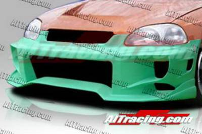 AIT Racing - Honda Civic AIT Racing ALK-2 Style Front Bumper - HC96HIALKIIFB