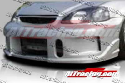 AIT Racing - Honda Civic AIT Racing BCN1 Style Front Bumper - HC96HIBCN1FB