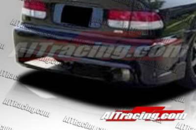 AIT Racing - Honda Civic AIT Racing BCN1 Style Rear Bumper - HC96HIBCN1RB2