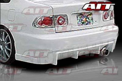 AIT Racing - Honda Civic 2DR & 4DR AIT BCS Style Rear Bumper - HC96HIBCSRB2