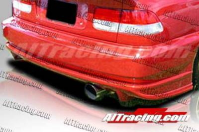 AIT Racing - Honda Civic AIT Racing BMX Style Rear Bumper - HC96HIBMXRB