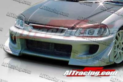 AIT Racing - Honda Civic AIT Racing BZ Style Front Bumper - HC96HIBZSFB