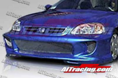 AIT Racing - Honda Civic AIT Racing Combat Style Front Bumper - HC96HICBSFB