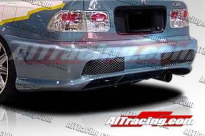 AIT Racing - Honda Civic AIT Racing Combat Style Rear Bumper - HC96HICBSRB