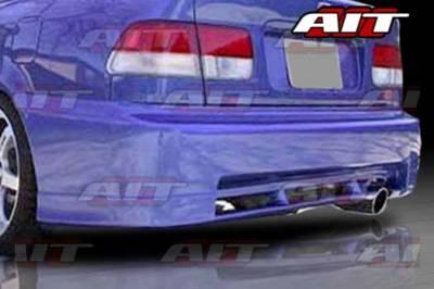 AIT Racing - Honda Civic 2DR & 4DR AIT CWS Style Rear Bumper - HC96HICWSRB2