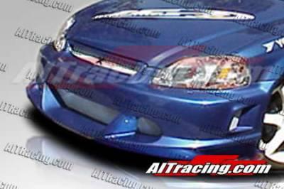 AIT Racing - Honda Civic AIT Racing EVO2 Style Front Bumper - HC96HIEVO2FB