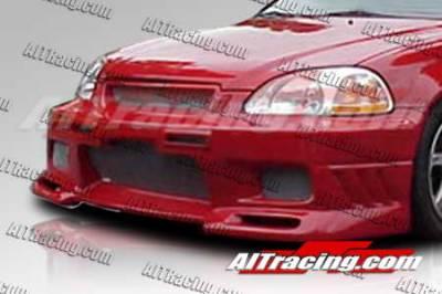 AIT Racing - Honda Civic AIT Racing EVO3 Style Front Bumper - HC96HIEVO3FB