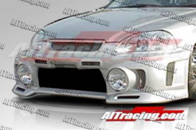 AIT Racing - Honda Civic AIT Racing EVO3-L Style Front Bumper - HC96HIEVO3FBL
