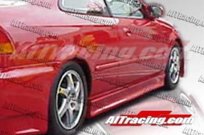 AIT Racing - Honda Civic AIT Racing EVO3 Style Side Skirts - HC96HIEVO3SS