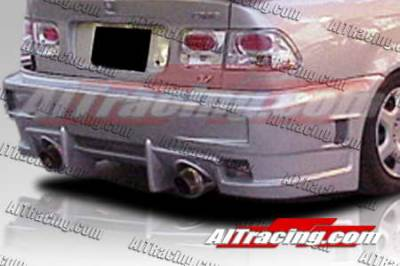 AIT Racing - Honda Civic AIT Racing EVO4 Style Rear Bumper - HC96HIEVO4RB