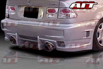 AIT Racing - Honda Civic 2DR AIT EVO-4 Style Rear Bumper - HC96HIEVO4RB2