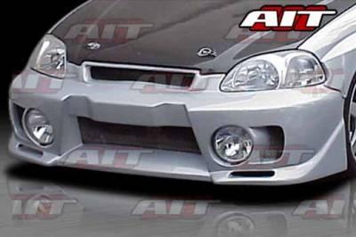AIT Racing - Honda Civic AIT EVO5 Style Front Bumper - HC96HIEVO5FB