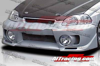 AIT Racing - Honda Civic AIT Racing EVO5 Style Front Bumper - HC96HIEVO5FBL