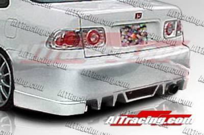 AIT Racing - Honda Civic AIT Racing EVO5 Style Rear Bumper - HC96HIEVO5RB2