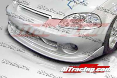 AIT Racing - Honda Civic AIT Racing MGN Style Front Bumper - HC96HIMGNFB