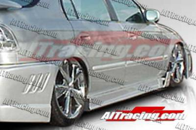 AIT Racing - Honda Civic AIT Racing MGN Style Side Skirts - HC96HIMGNSS