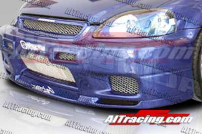 AIT Racing - Honda Civic AIT Racing R33 Style Front Bumper - HC96HIR33FB