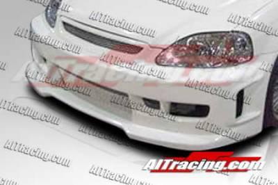 AIT Racing - Honda Civic AIT Racing Revolution Style Front Bumper - HC96HIREVFB