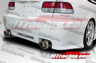 AIT Racing - Honda Civic AIT Racing Revolution Style Rear Bumper - HC96HIREVRB