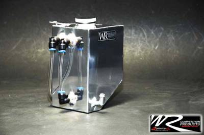Weapon R - Nissan 350Z Weapon R Aluminum Coolant Overflow Tank - Polished - 826-123-101