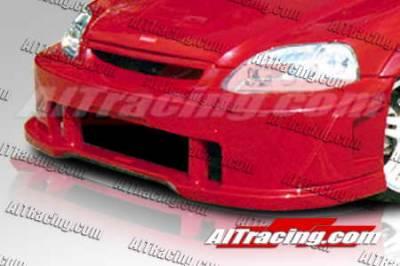 AIT Racing - Honda Civic AIT Racing SIN Style Front Bumper - HC96HISINFB