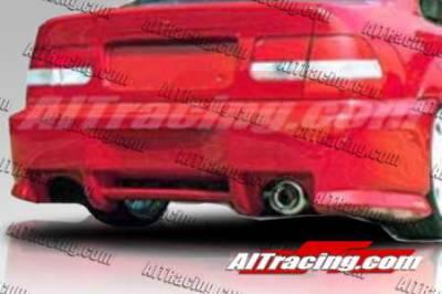AIT Racing - Honda Civic AIT Racing SIN Style Rear Bumper - HC96HISINRB