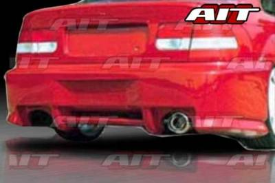 AIT Racing - Honda Civic 2DR & 4DR AIT SIN Style Rear Bumper - HC96HISINRB2