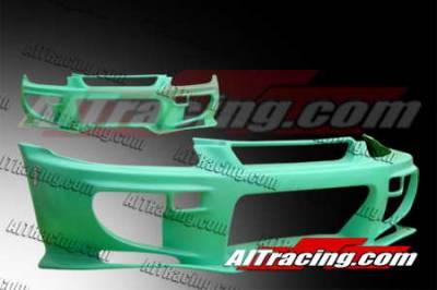 AIT Racing - Honda Civic AIT Racing VS2 Style Front Bumper - HC96HIVS2FB