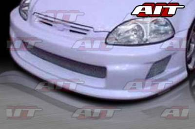 AIT Racing - Honda Civic AIT TSC Style Front Bumper - HC96HIZEAFB