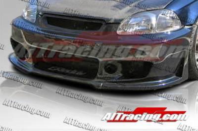AIT Racing - Honda Civic AIT Racing Zen Style Front Bumper - HC96HIZENFB