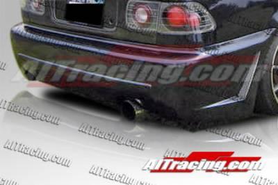 AIT Racing - Honda Civic AIT Racing Zen Style Rear Bumper - HC96HIZENRB